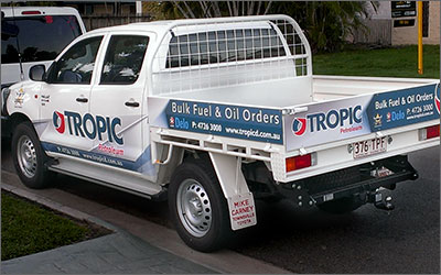 Tropic Petroleum Ute Design